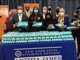 Con 1,2 millones de huevos: así resuelven una demanda de fraude en Nueva York