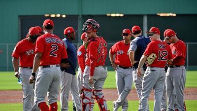 Así son los entrenamientos de los Medias Rojas de Boston en la ciudad de Fort Myers