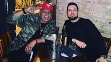 Alejandro y DJ Africa se fueron de fiesta y casi no llegan al show