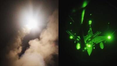 Estados Unidos y Francia revelan videos de los ataques a Siria