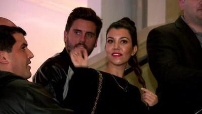 Kourtney Kardashian y Scott Disick sufrieron un robo en su mansión