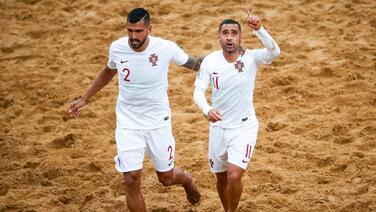Portugal e Italia van a la final del Mundial de playa con mucho dramatismo
