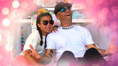 Wisin celebra el cumpleaños de su primogénita con un blin blin muy colorido
