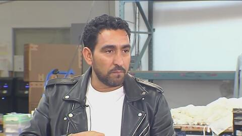 Marco Bonilla, un inmigrante hondureño que busca opciones legales para permanecer en EEUU