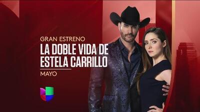 Ariadne Díaz y David Zepeda te atraparán en 'La doble vida de Estela Carrillo'