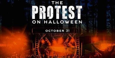 Policía interrumpe fiesta multitudinaria de Halloween en el condado de Utah
