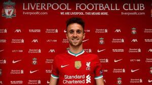 Segundo bombazo: Liverpool anuncia a Diogo Jota