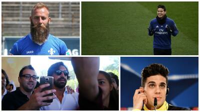 ¿Cómo los prefieren ellas? 15 futbolistas con barba contra 15 futbolistas sin barba
