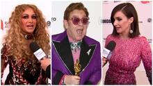Paulina Rubio y Paz Vega celebran con Elton John en su fiesta anual tras los premios Oscar
