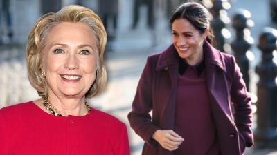 """Para Hillary Clinton el """"inexplicable"""" trato que Meghan Markle recibe de los tabloides es una cuestión racial"""