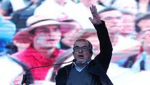 Timochenko, líder de las antiguas FARC, lanza su candidatura a la presidencia de Colombia