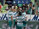 Santos le remonta a Rayados con goles de Aguirre y Preciado