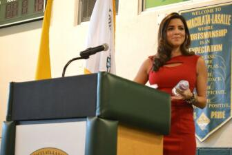 Pamela Silva Conde motiva a los estudiantes