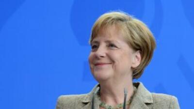 Angela Merkel, Canciller de Alemania confía en su selección para ganar el Mundial