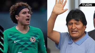 Confunden recibimiento a Evo Morales con el de Memo Ochoa