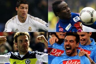 Real Madrid-CSKA y Chelsea-Nápoli