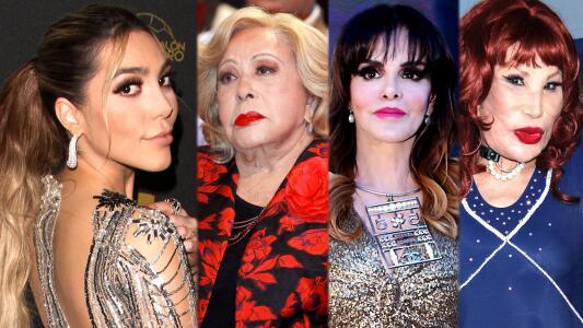 Frida Sofía se 'confiesa' con Lucía Méndez, habla Silvia Pinal y Lyn May también opinó