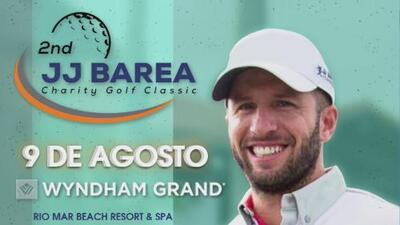 José Juan Barea prepara segundo torneo de golf para recaudar fondos