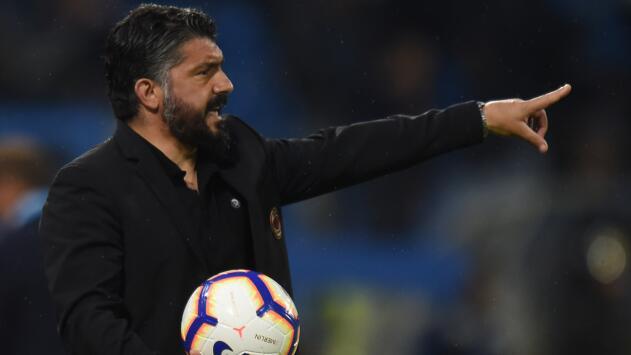 Es oficial: Gennaro Gattuso es el nuevo entrenador del Napoli
