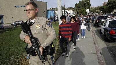 Así se vivieron los 16 segundos que duró el tiroteo en una escuela de Santa Clarita, California