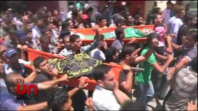 En Un Minuto: aumentan los muertos en Gaza por ataques de Israel