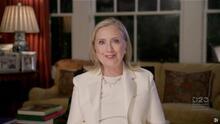 """Hillary Clinton dirigirá entrenamiento sobre """"resiliencia"""" para aumentar el apoyo de mujeres a campaña de Biden"""