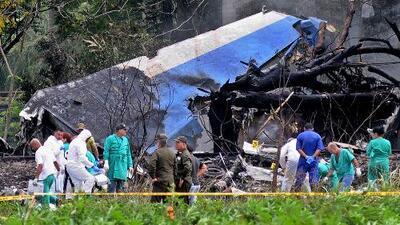 Recuperan segunda caja negra del avión siniestrado en La Habana