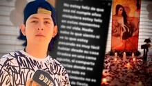 El Pantera de Culiacán responde a críticas por 'celebrar' su cumpleaños a menos de un mes de la muerte de su novia