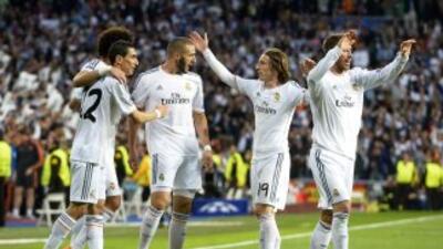 Así jugó Real Madrid contra Bayern en la ida de semifinales de Champions