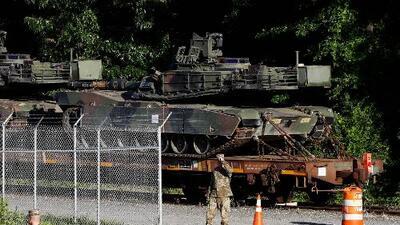Un 4 de julio con discurso de Trump y tanques: critican la politización del Día de la Independencia en Washington DC