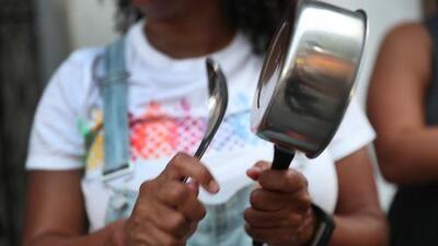 Un cacerolazo nacional marca otra jornada de protestas en Puerto Rico exigiendo la renuncia de Rosselló