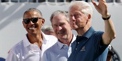 Obama, Bush y Clinton se ofrecen como promotores de la vacuna del coronavirus ante el silencio de Trump