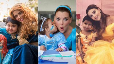Claudia Álvarez, Marjorie de Sousa y otras actrices que se convirtieron en princesas por una noble causa