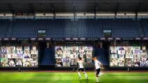 ¡Tribuna virtual! Equipo danés lleva 10 mil aficionados a su estadio