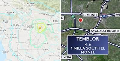 Temblor en El Monte fue en la misma zona de un terremoto de 5.9 en 1987