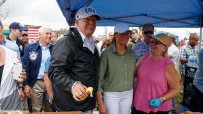 Trump visitará Puerto Rico para revisar las labores de recuperación por el huracán Irma