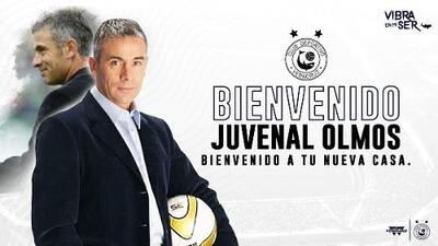 Juvenal Olmos ya está en México para dirigir a Veracruz