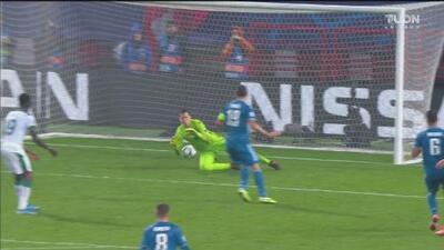 ¡Para no creerlo! Miranchuk perdona a la Juventus en oportunidad clara