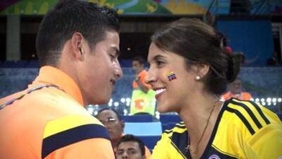 Daniela Ospina, la exesposa de James Rodríguez, lo felicitó en Instagram tras clasificar con Colombia al Mundial