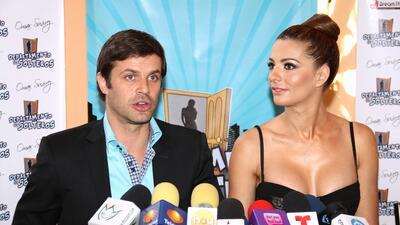 Mark Tacher y Cecilia Galeano despedirán el año en Argentina