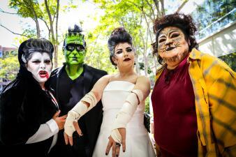 Univision LA gozó gran fiesta de Halloween