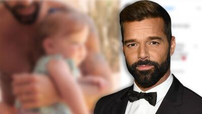 Ricky Martin muestra por primera vez a su hija Lucía tras 7 meses de su nacimiento