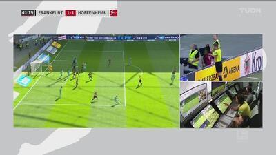 ¡No goal, no party! VAR le anula el empate al Hoffenheim
