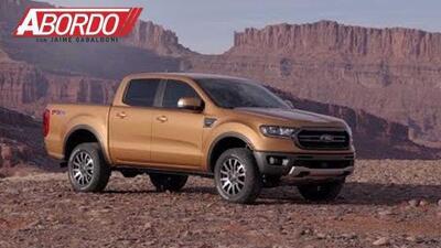 Detroit Auto Show 2018: Ford Ranger 2019 - A Bordo