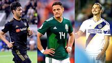 Chicharito, Zlatan o Vela: ¿cuál llegada generó más expectativa en LA?