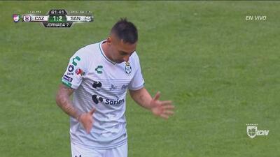 ¡No se cree! Correa falló el tercero de Santos