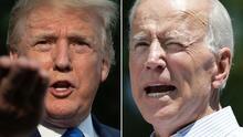 """Vacuna inyecta 'intensidad electoral': Trump llama """"estúpido"""" a Biden porque le critica que busque votos con ella"""