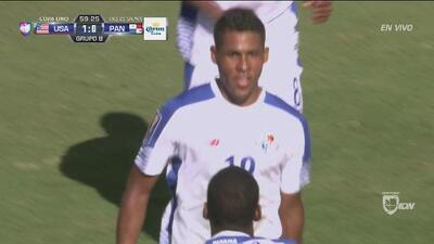 Miguel Camargo, hombre de New York City FC, le dió empate a Panamá ante el Team USA