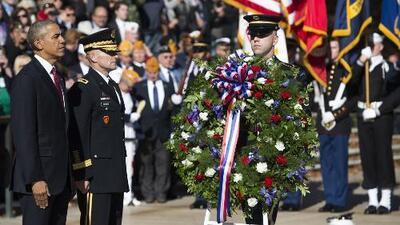 Ceremonia por el Día de los Veteranos