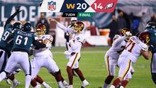 ¡Washington vence a Eagles y se mete a los Playoffs de la NFL!
